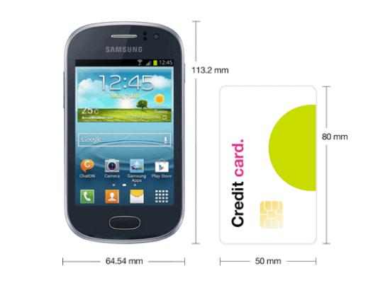 Three Mobile - Samsung Galaxy Fame