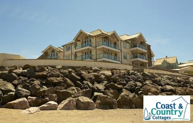 Thurlestone Rock apartments, Thurlestone Sands - Coast & Country Cottages