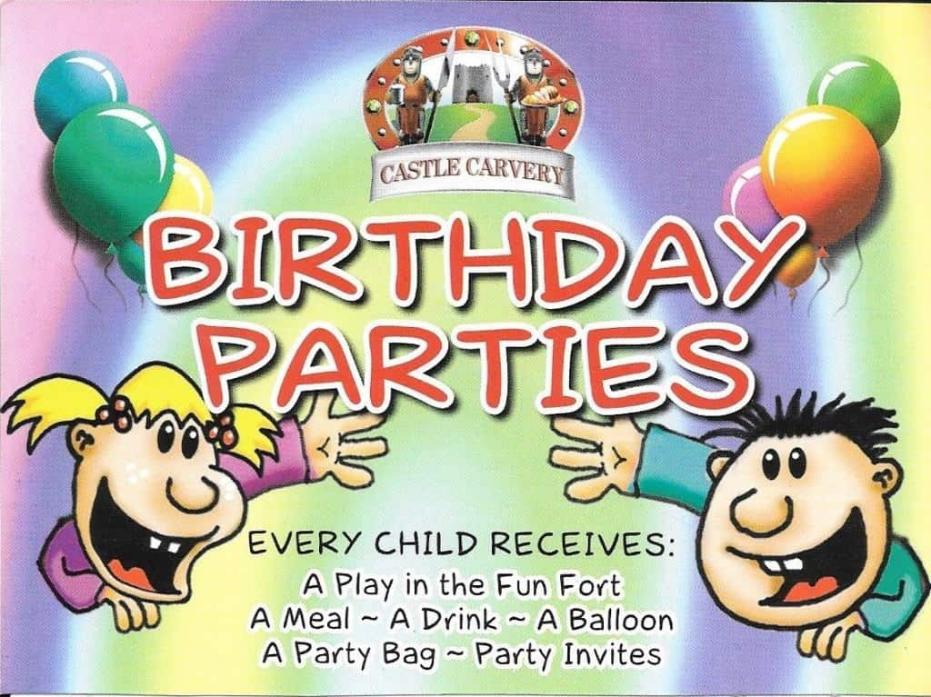 Tigger - Caister Castle Birthday Invite