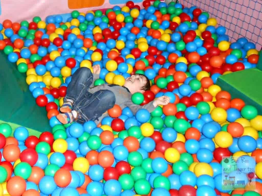 Tigger - First pre-school birthday party