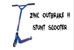 Zinc Outbrake II Stunt Scooter
