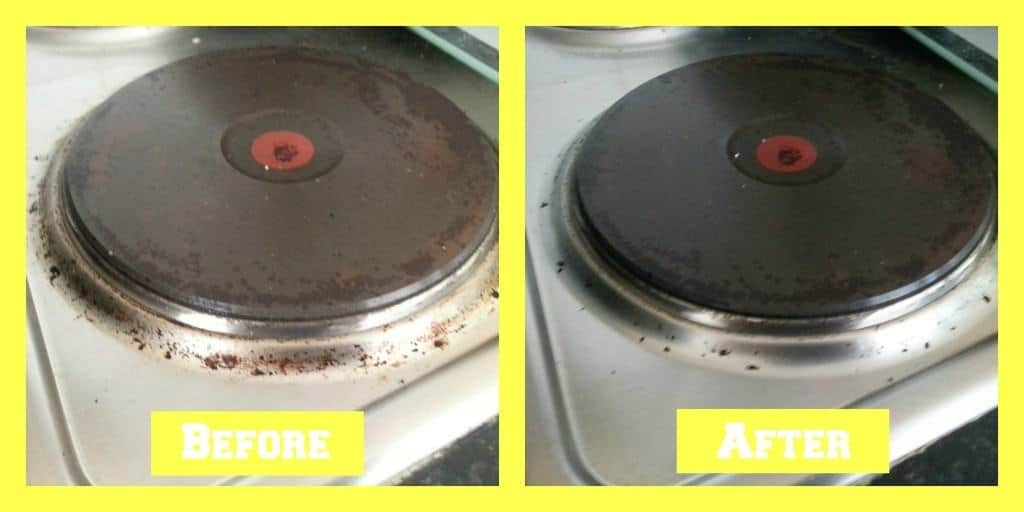 Cif Spring Cleaning - Hob