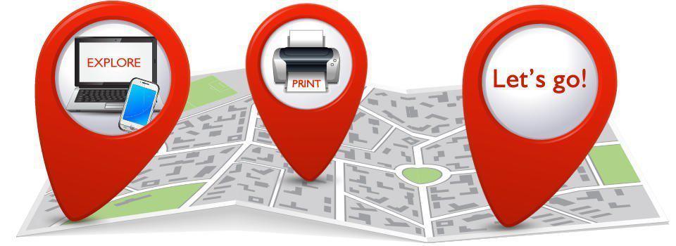 Direct Line Let's Go - Explore Print Let's Go