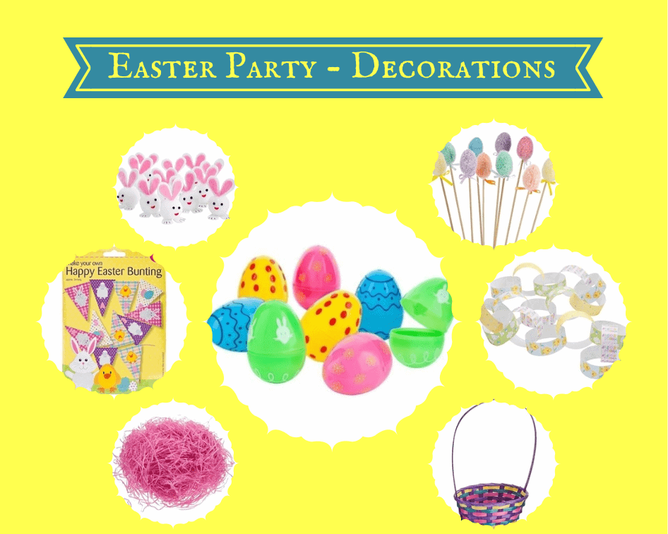 Easter Party - Decorations