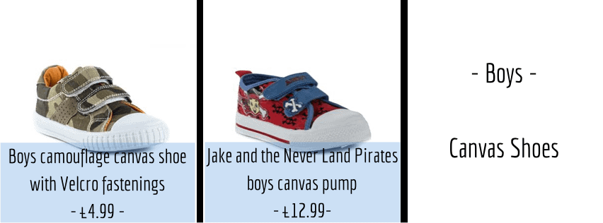 Easter Shoes - Boys Canvas Shoes