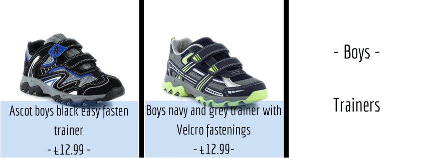 Easter Shoes - Boys Trainers