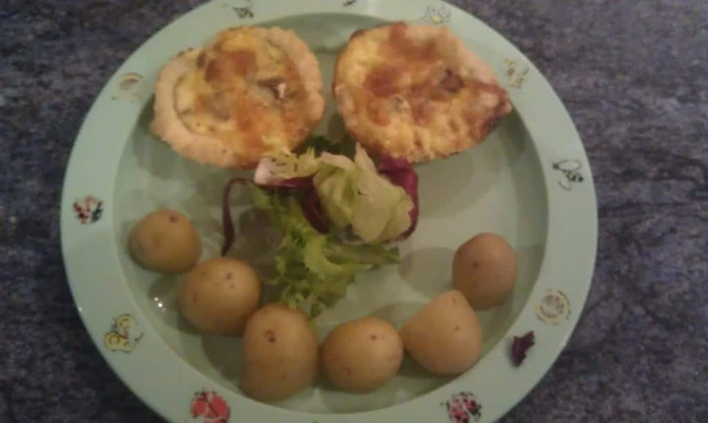 Emmys Mummy - Bacon, Tomato & Cheese tartlets