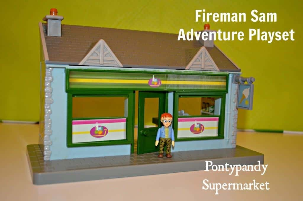 Fireman Sam Adventure Playset - Pontypandy Supermarket