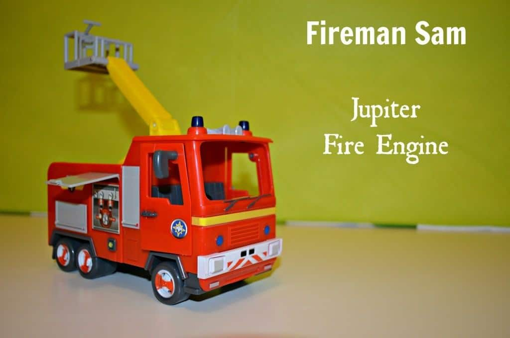Fireman Sam - Jupiter Fire Engine