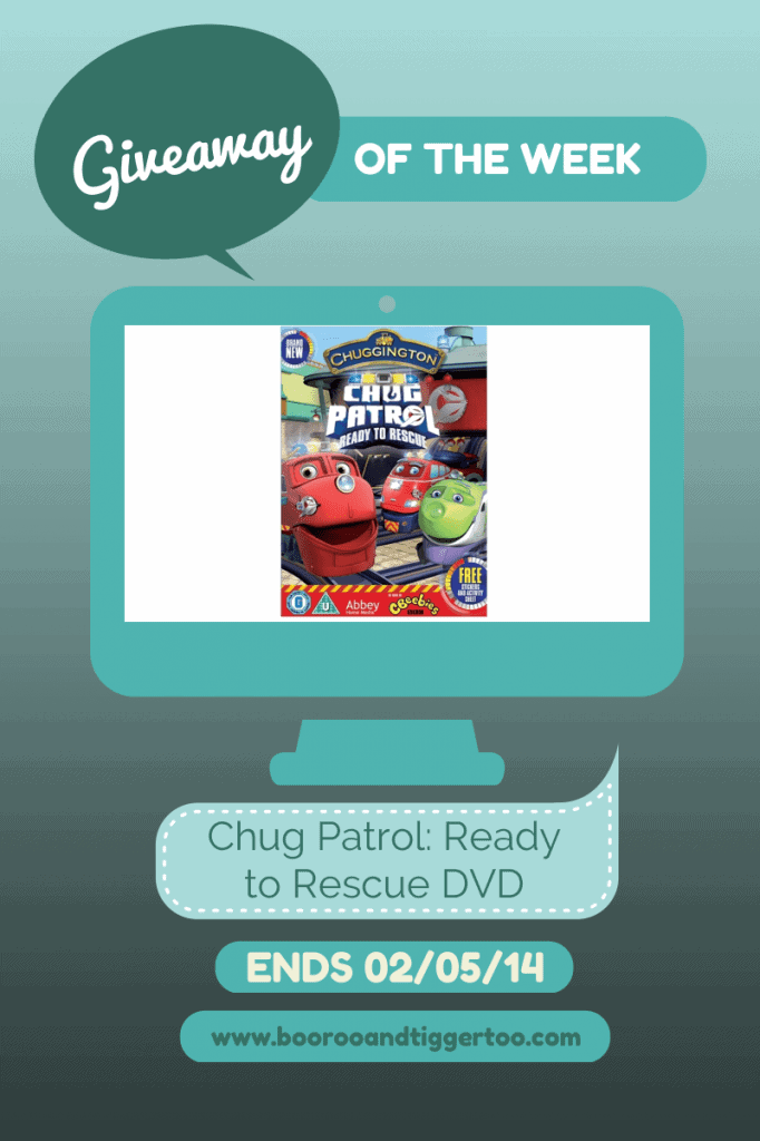 Giveaway - Chug Patrol Ready to Rescue DVD
