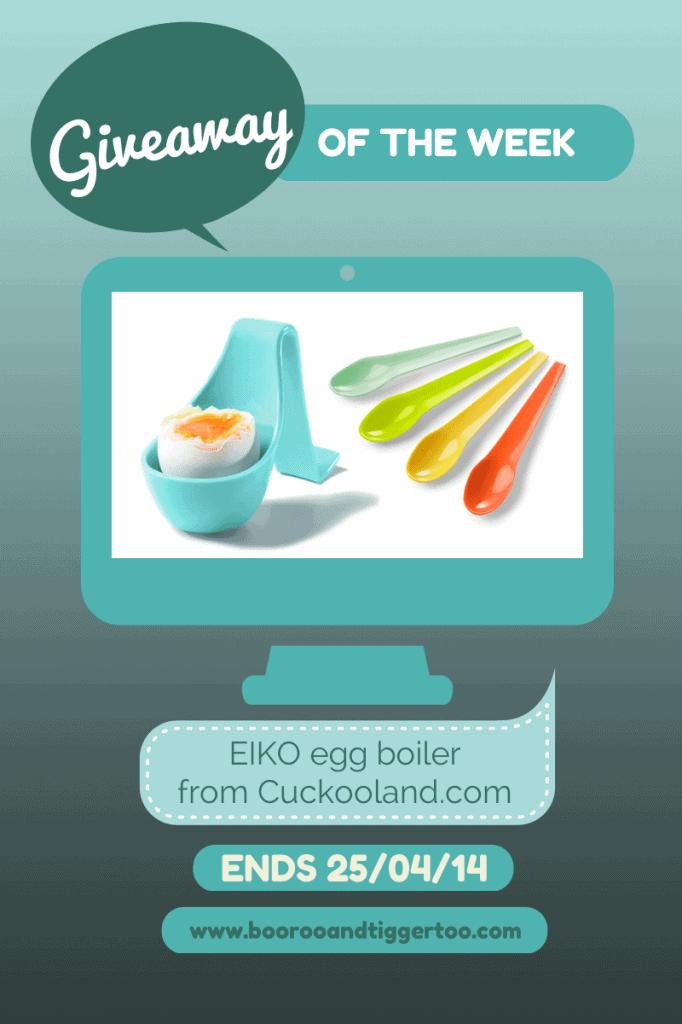Giveaway - EIKO egg boiler