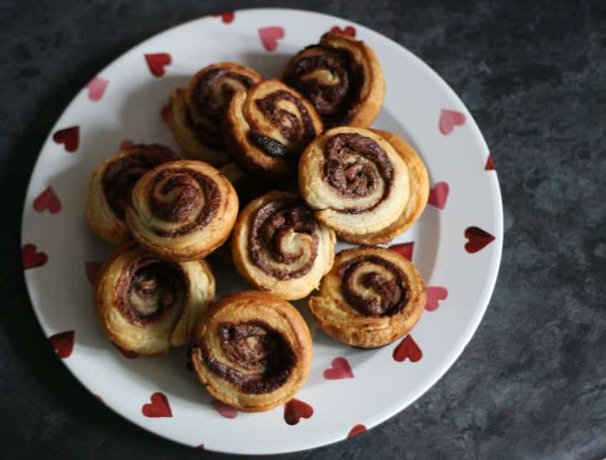 Mummy Alarm - Quick and easy Nutella Swirls