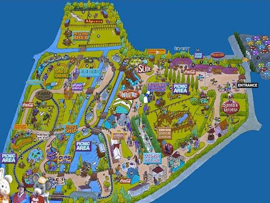 Pettitts Adventure Park Map