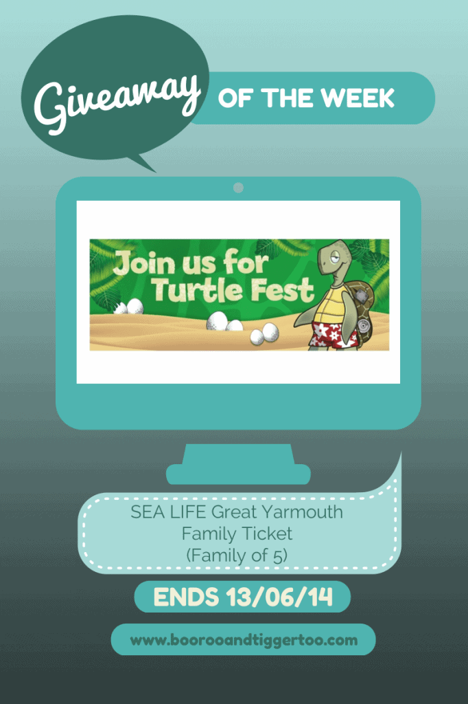 Giveaway - SEA LIFE Great Yarmouth Turtle Fest