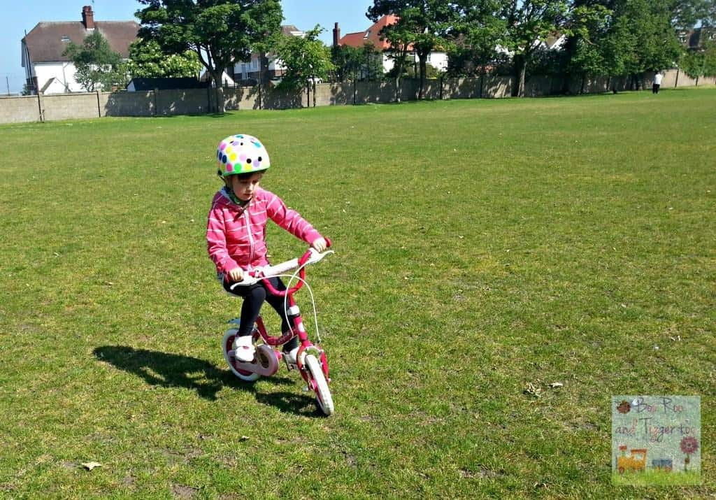 Learning to ride a bike - Roo