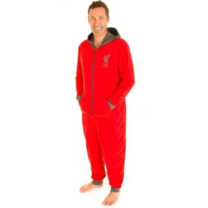 Liverpool FC Official Hooded Adult Onesie