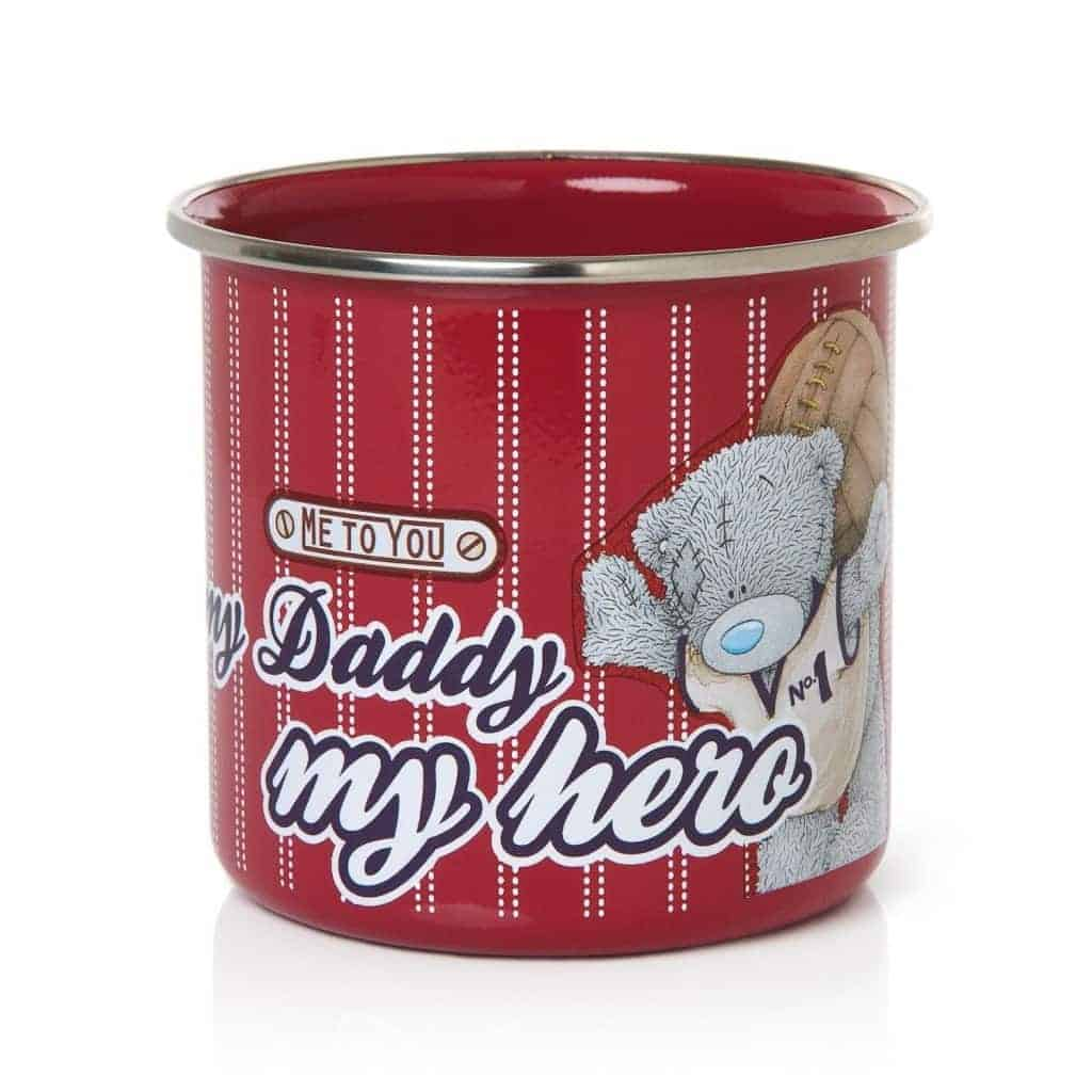Me to You Tatty Teddy My Daddy Enamel Mug