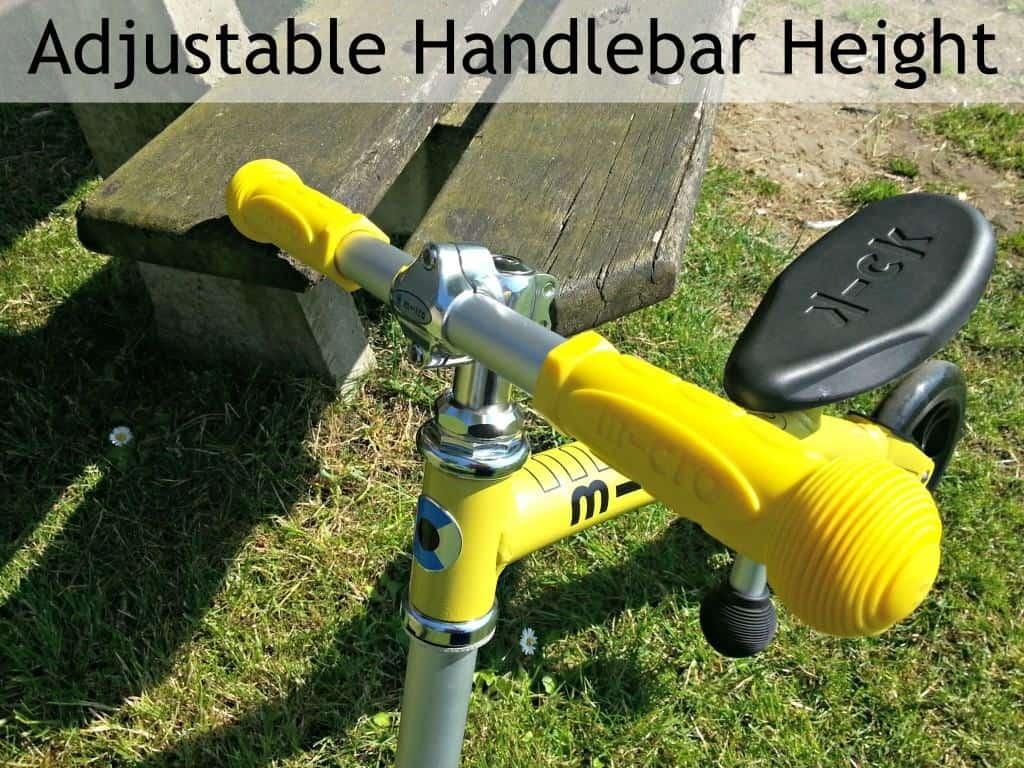 Micro Balance Bike - Adjustable handlebar height