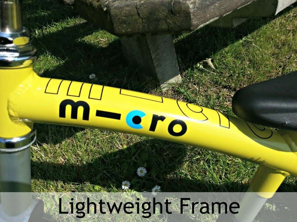 Micro Balance Bike - Lightweight frame