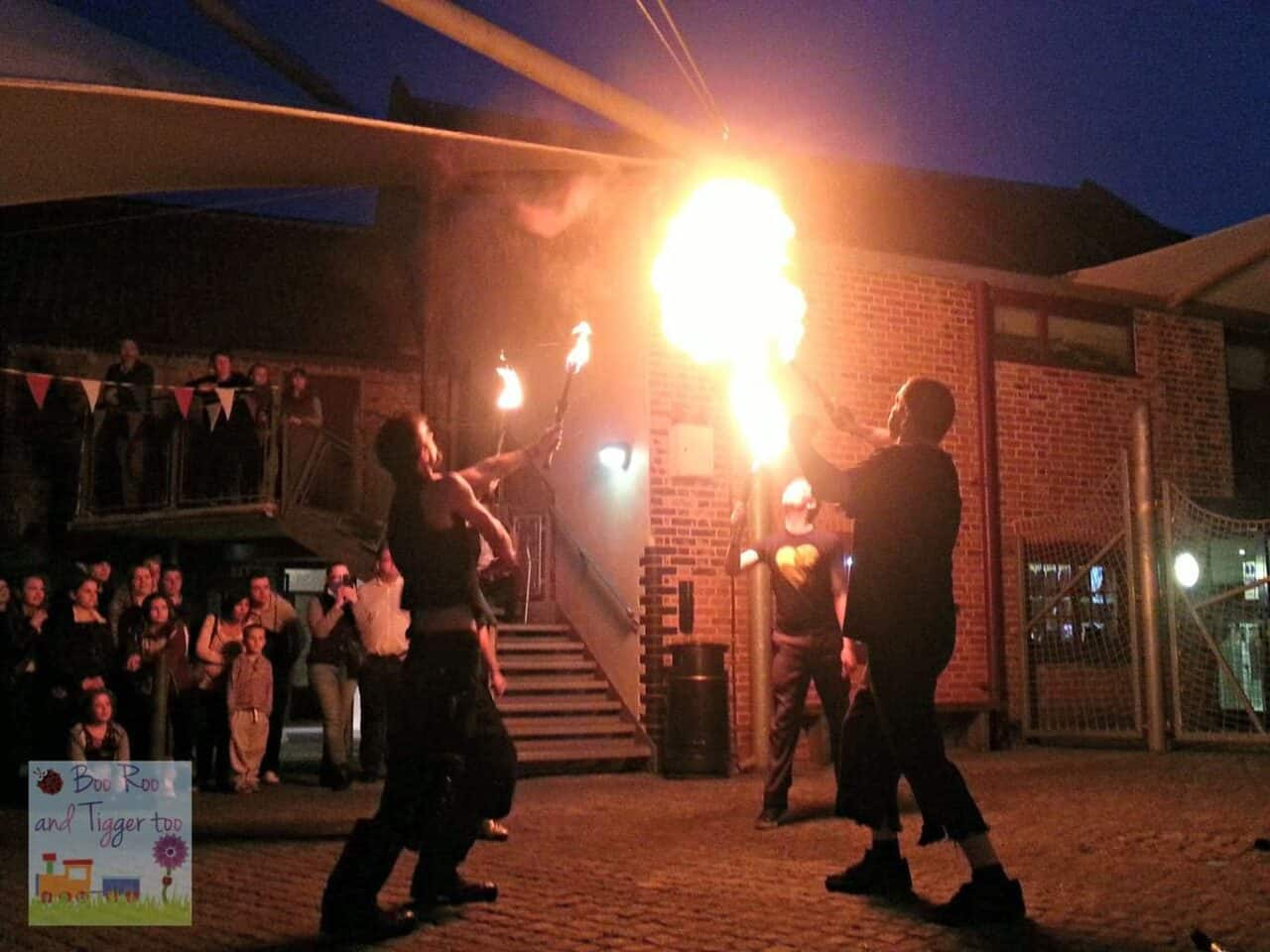 Museums At Night - The Spectacular Foolhardy Circus Fire Show