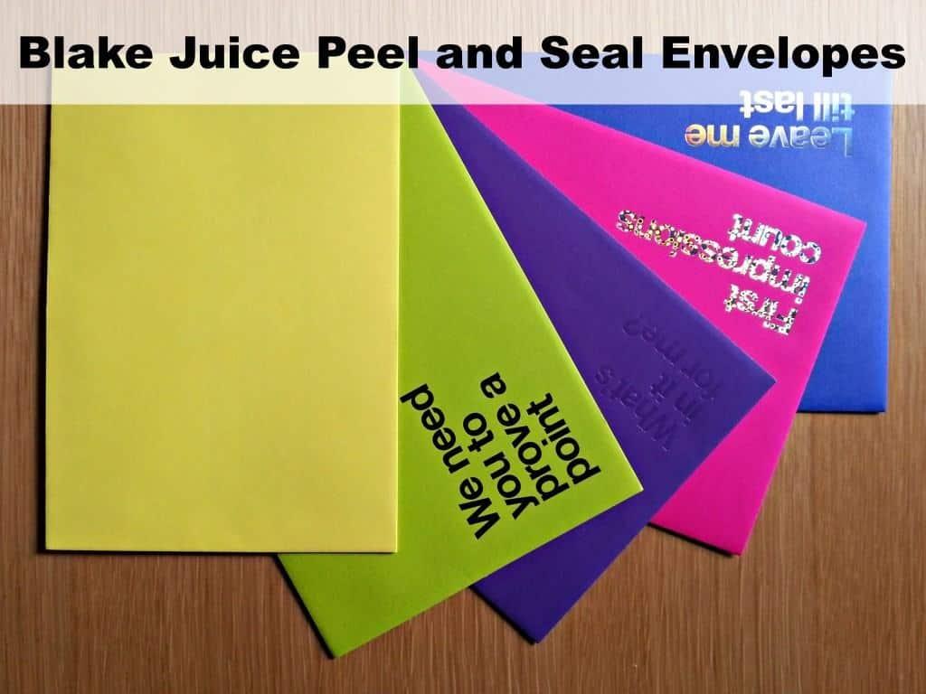 Shoplet Blake Juice Peel and Seal Envelopes