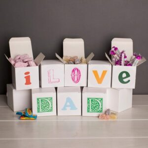 Sweet Words Sweet Boxes - I Love Dad