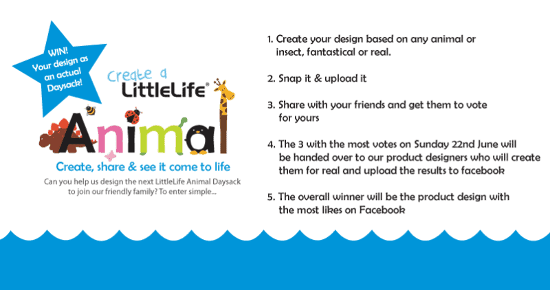 Create a LittleLife Animal Daysack - How To Enter