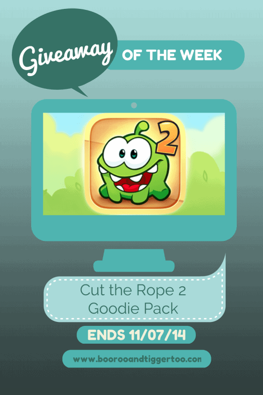 Giveaway - Cut the Rope 2