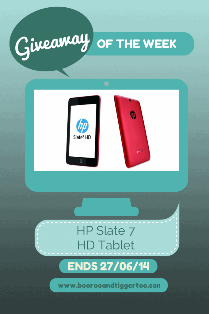 Giveaway - HP Slate 7