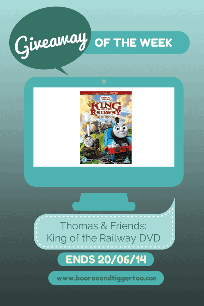 Giveaway - Thomas & Friends King of the Railway