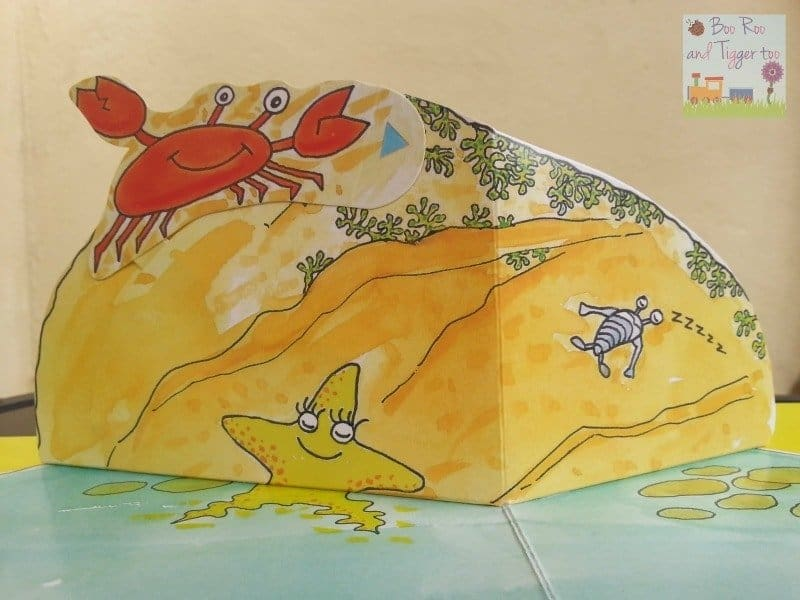 Gone Crabbing - Colin the Crab Pop Up Book