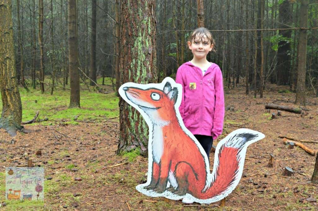 Gruffalo Trail - A Fox