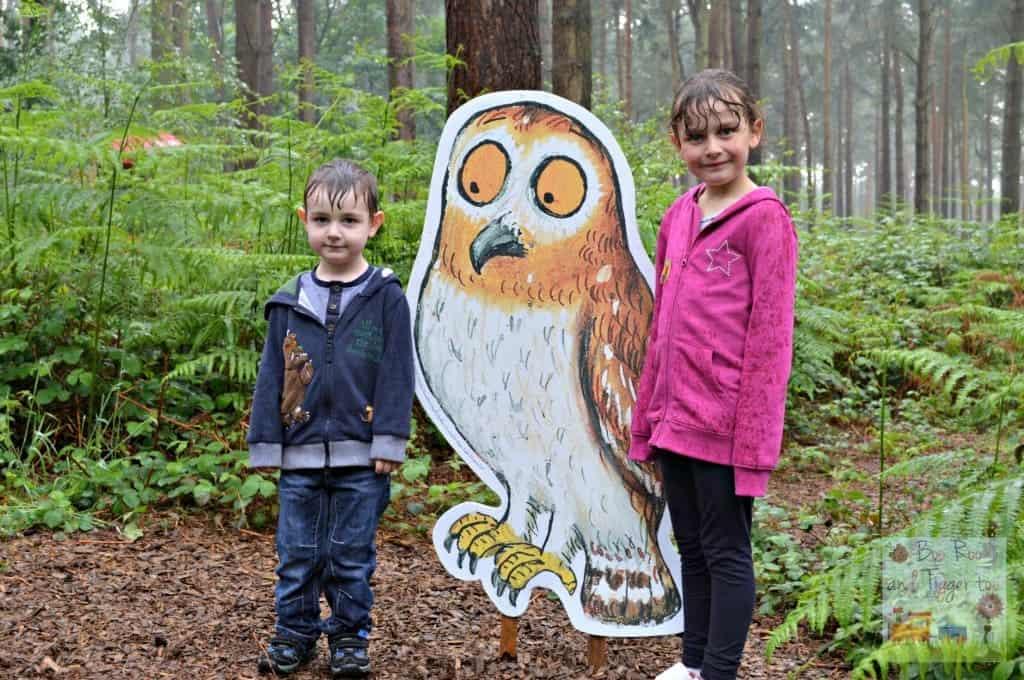 Gruffalo Trail - An Owl