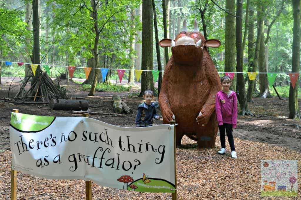 Gruffalo Trail - There's no such thing as a Gruffalo