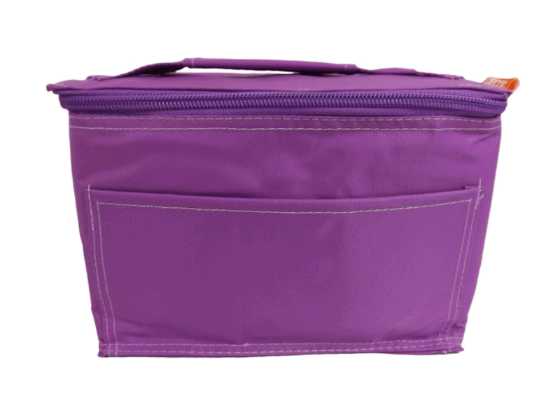 Becky & Lolo: Purple Lunch Box Kit - Insulated cooler bag