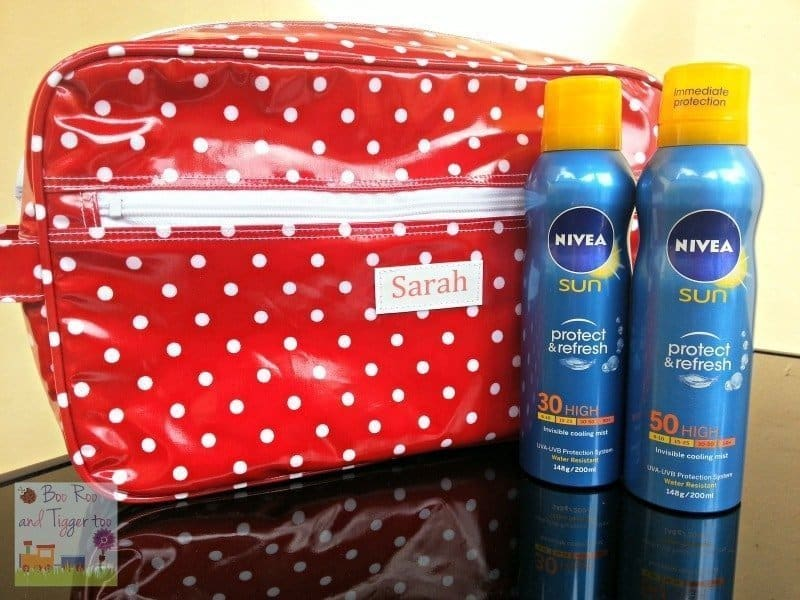 NIVEA Sun Protect & Refresh - Invisible Cooling Mist