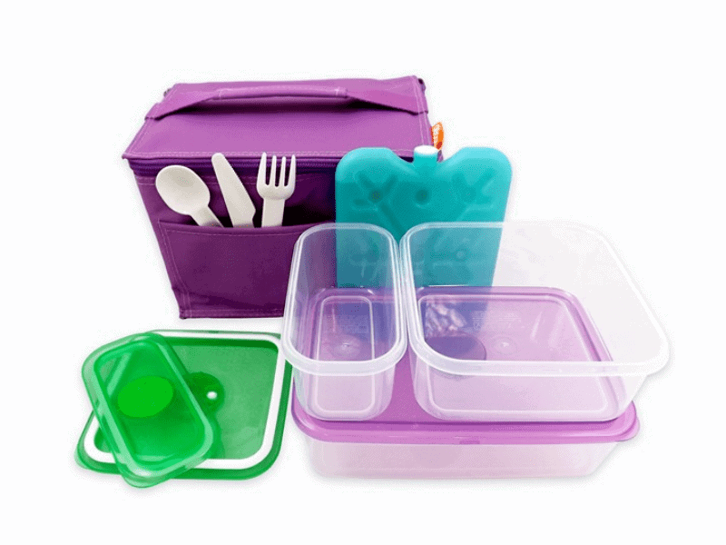 Becky & Lolo: Purple Lunch Box Kit