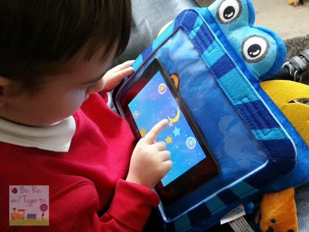 Seebo Splashy Smart Tablet Protector Case - Stars Game