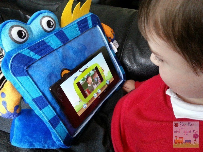 Seebo Splashy Smart Tablet Protector Case - YouTube