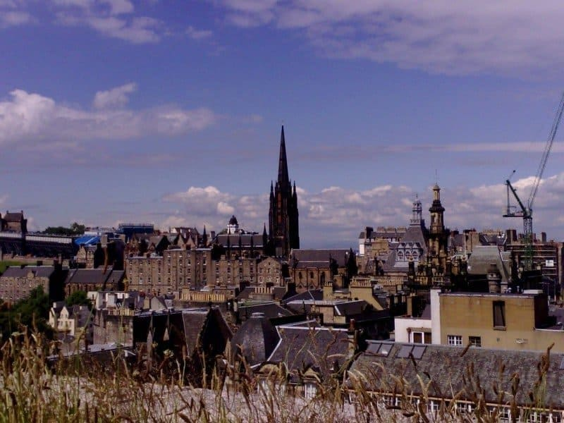 Old Town, Edinburgh - Photo Credit