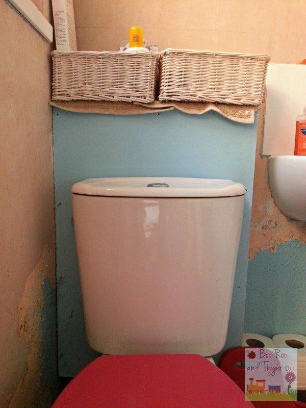 Bathroom Renovation - Before Toilet