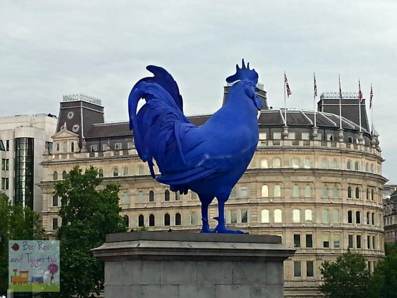 Big Bus London - Blue Cockerel