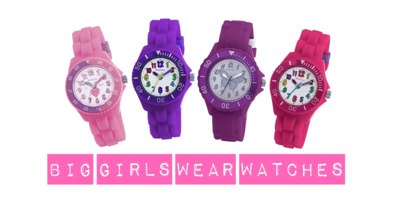 Big girls wear watches