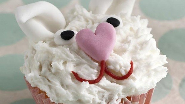 Bunny Rabbit Cupcakes