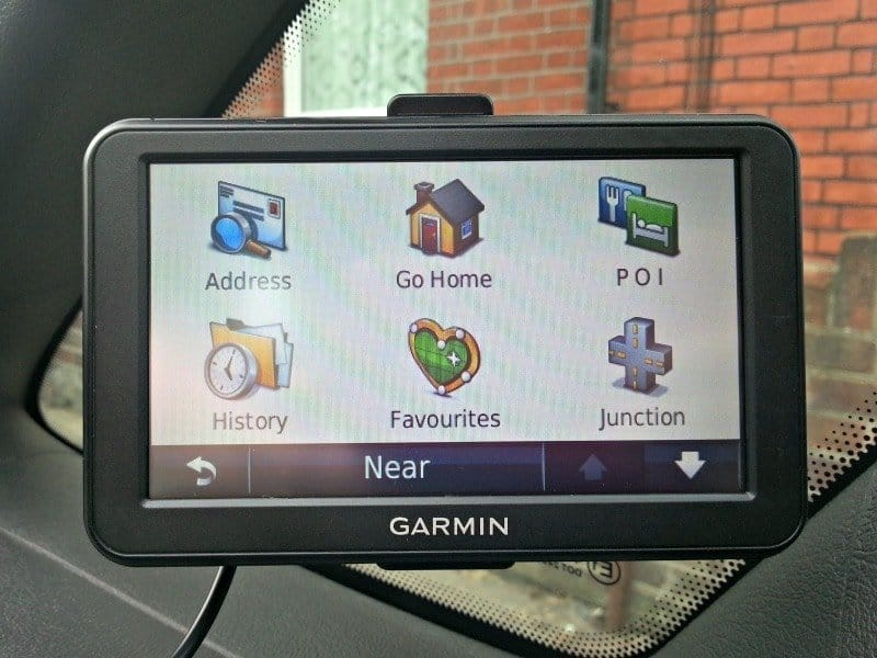 Garmin Nuvi 50 - Search