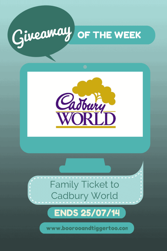 Giveaway - Cadbury World
