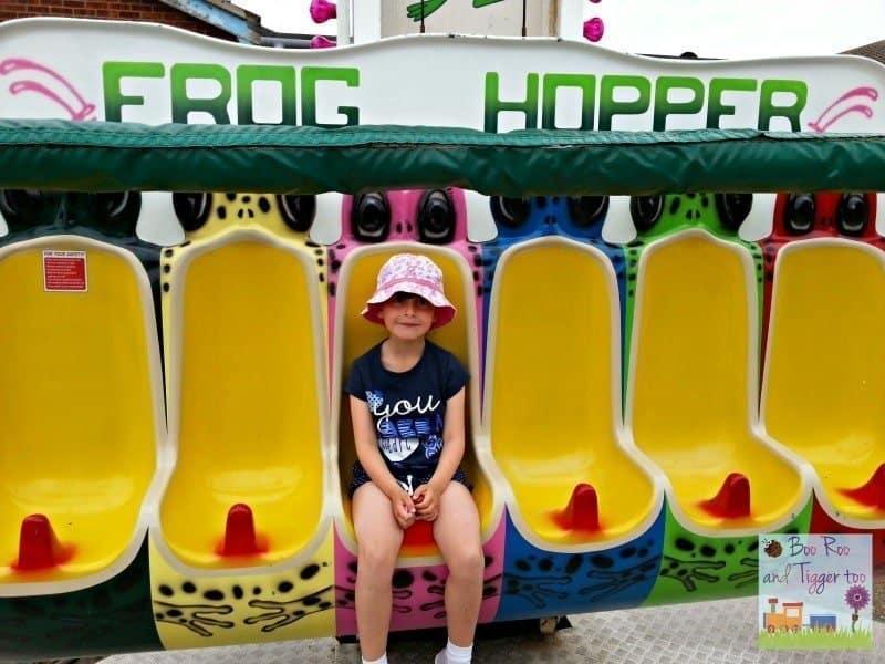 Hemsby Funfair - Roo Frog Hopper