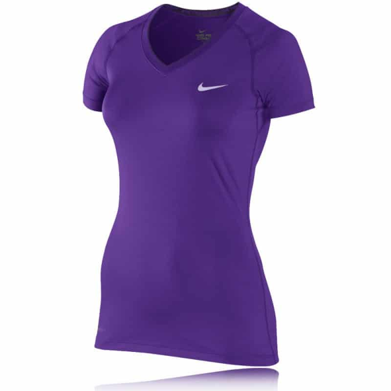 SportsShoes - Nike V-Neck Short Sleeve Top