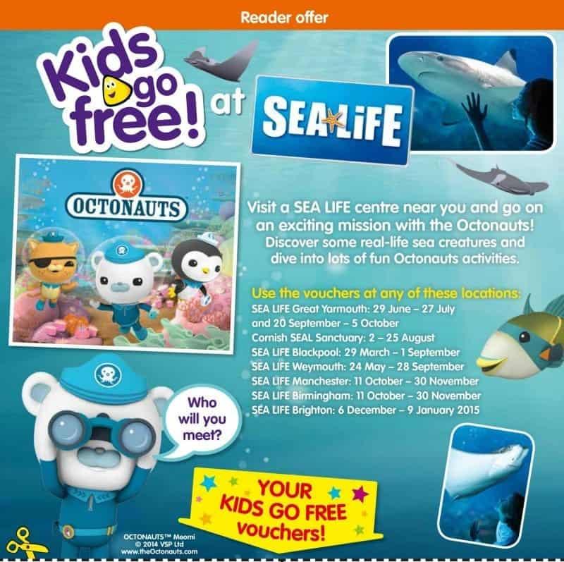 cbeebies kids go free spread
