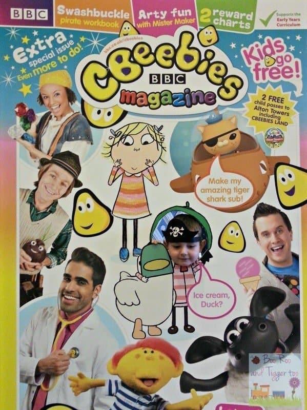 CBeebies Magazine Kids Go Free - Tigger Magazine Cover